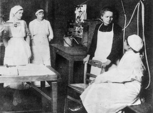 Marie_Curie_with_nurses_and_physician-300x223 Author's Blog Bluestocking Belles