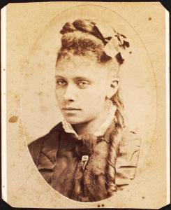 nypl.digitalcollection-unidentified-woman-with-curl-245x300 Author's Blog Highlighting Historical