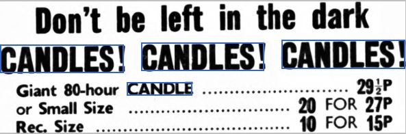 Candles-1970s Author's Blog Highlighting Historical