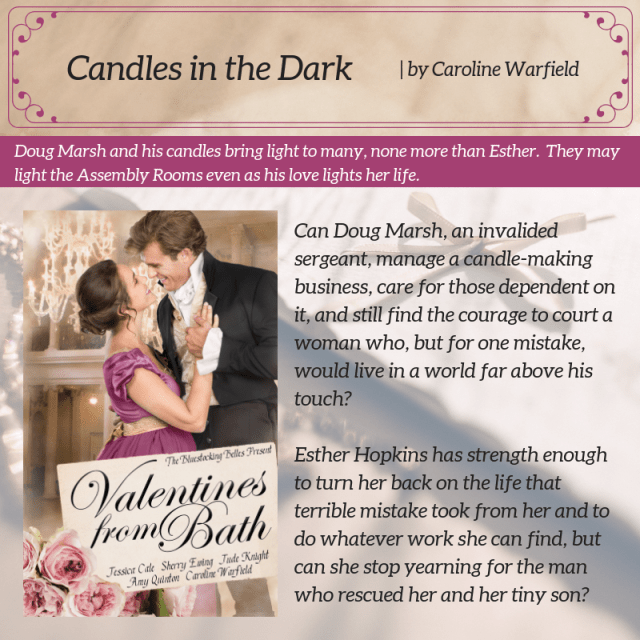 VFB-Warfield-Candles-in-the-Dark-Blurb Author's Blog Highlighting Historical