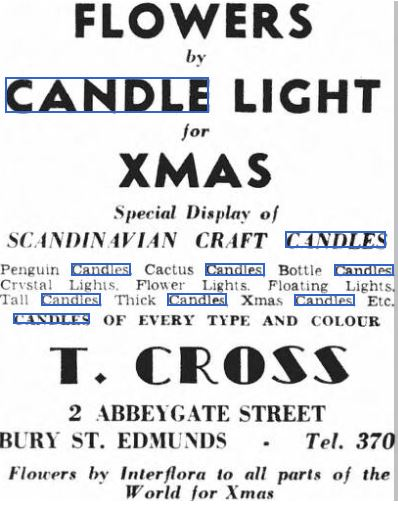 candles-1950 Author's Blog Highlighting Historical