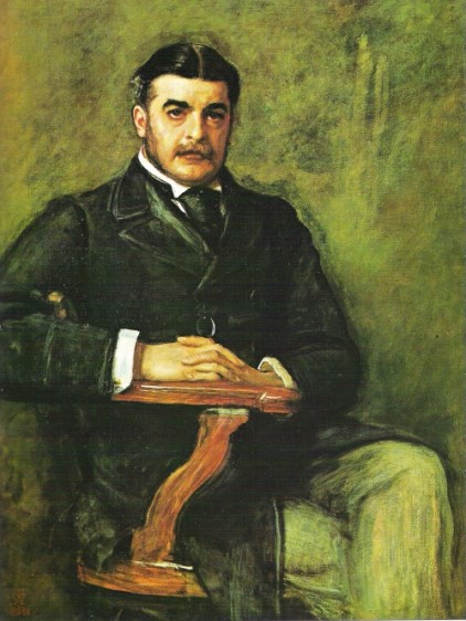 Sullivan_by_Millais Highlighting Historical