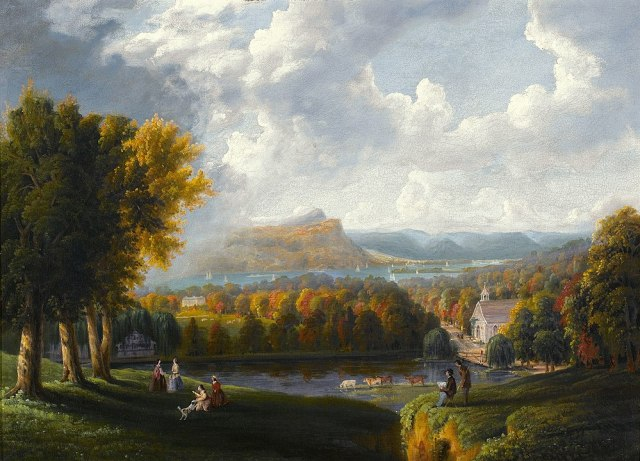 999px-View_of_the_Hudson_River-Robert_Havell_Jr-1866 Highlighting Historical Romance