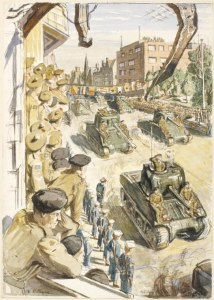 640px-Victory_Parade_at_Bremerhaven-_12th_May_1945_Art.IWMARTLD5457-214x300 Highlighting Historical Romance