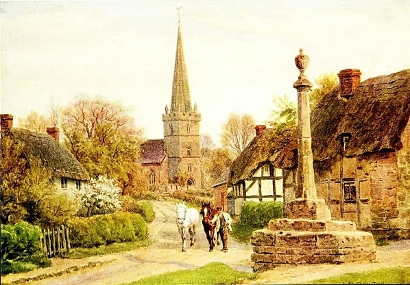 The_cottages_and_the_village_life_of_rural_England_1912_14593130698 Author's Blog