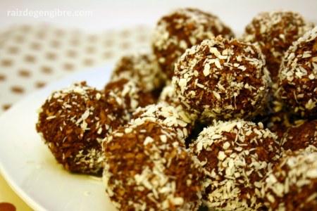 251. Trufa diet de coco [gluten free, vegan, crua e o que você quiser mais]