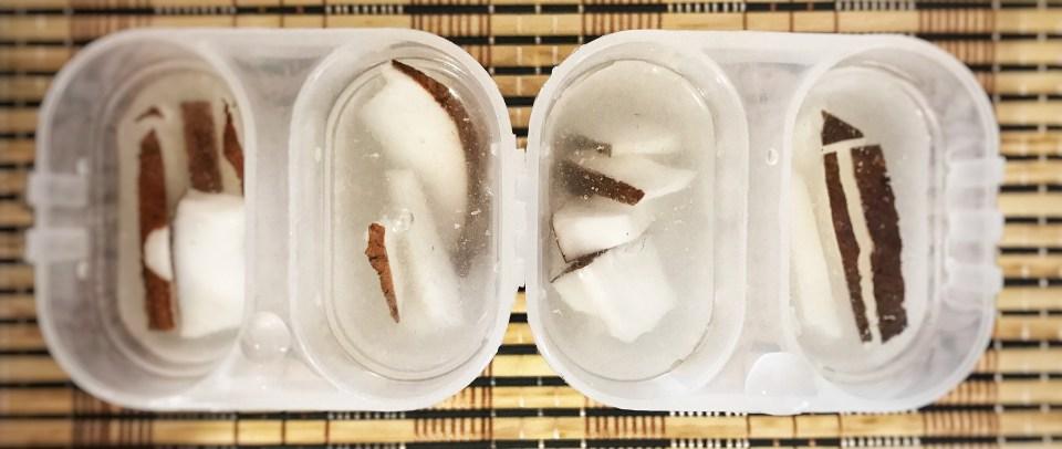 280. Picolé de coco com água de coco