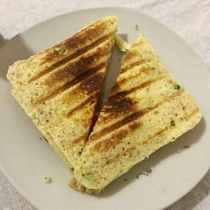 264. Pão de microondas sem farinha