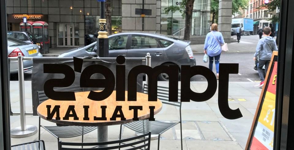 Londres: Jamie's Italian