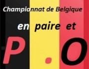 Championnat de Belgique en paire et P.O.   non off.