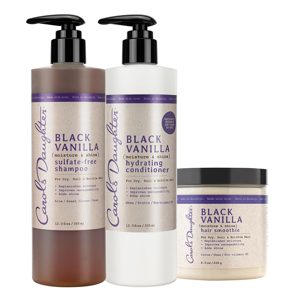 Black Vanilla Condition Set For Dry Hair Carols Daughter