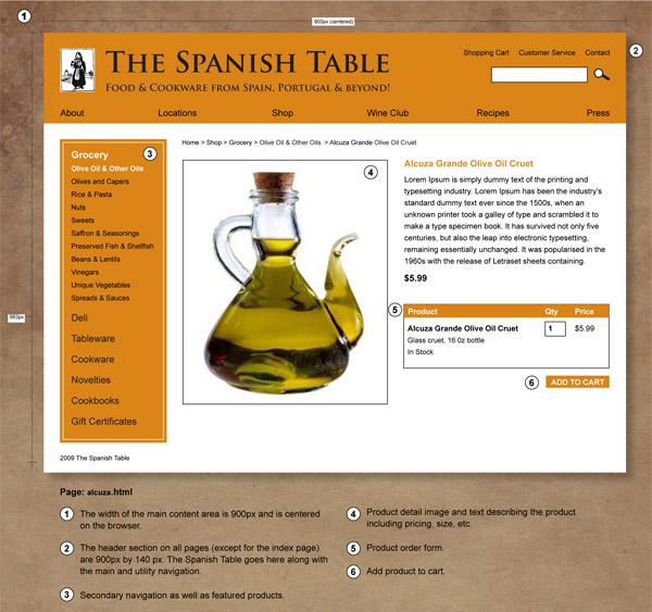 Visual Design for alcuzza.html