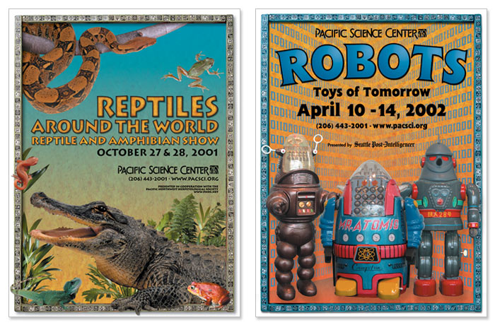 """""""Reptiles Around the World"""" and """"Robots"""""""