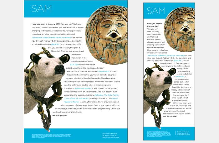 SAM Fall Arts
