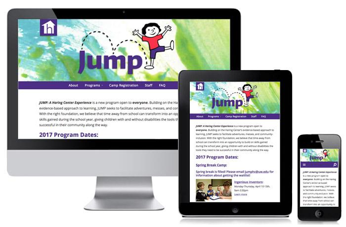 Jump website