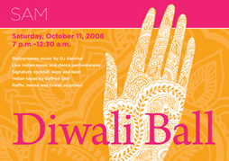 Graphic Design project: Diwali Ball