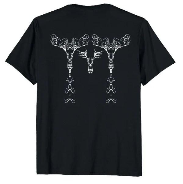 Graphic Design T-shirt Bird of Prey