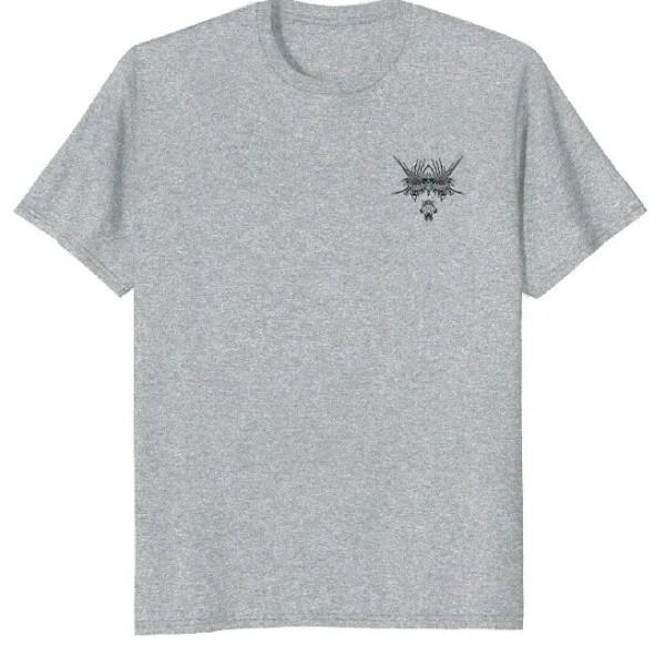 Graphic T shirt Boar's Head Design