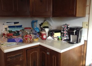 Cluttered Countertop 1