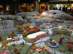 Train display at Carnegie Science Center