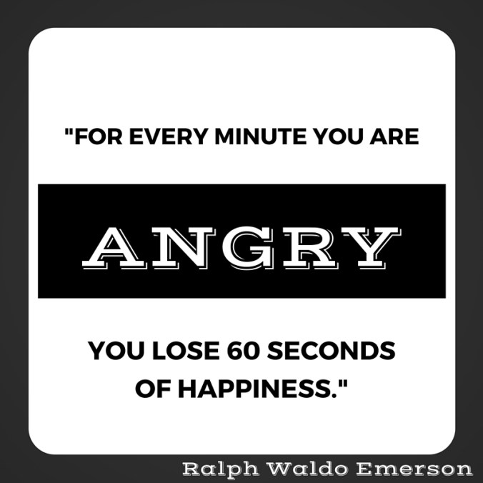 Anger quote from Emerson