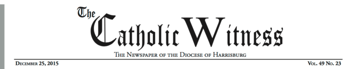 Catholic Witness Masthead