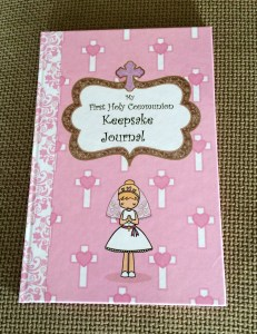 My First Communion Keepsake Journal