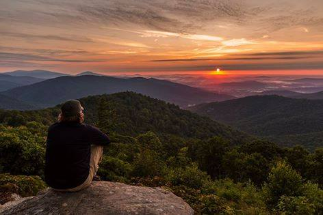Buck Hollow Overlook Sunrise