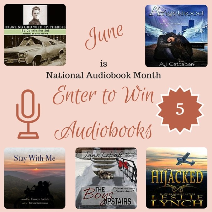 JUne Audiobook Giveaway