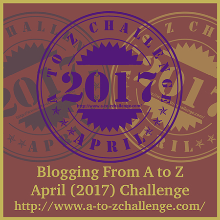 A to Z blogging