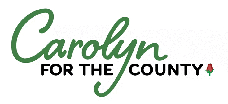 Carolyn for the County