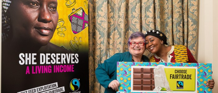 Carolyn Harris MP backs Fairtrade Fortnight campaign for cocoa farmers