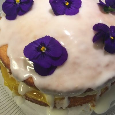 Absolutely Fabulous Lemon Drizzle Cake with Lemon Curd and Lemon Frosting