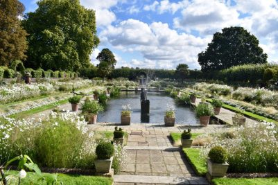 White Garden at Kensington Palace