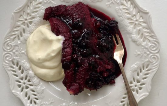 End of Summer Pudding