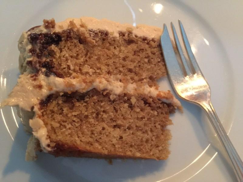 slice of coffee cake