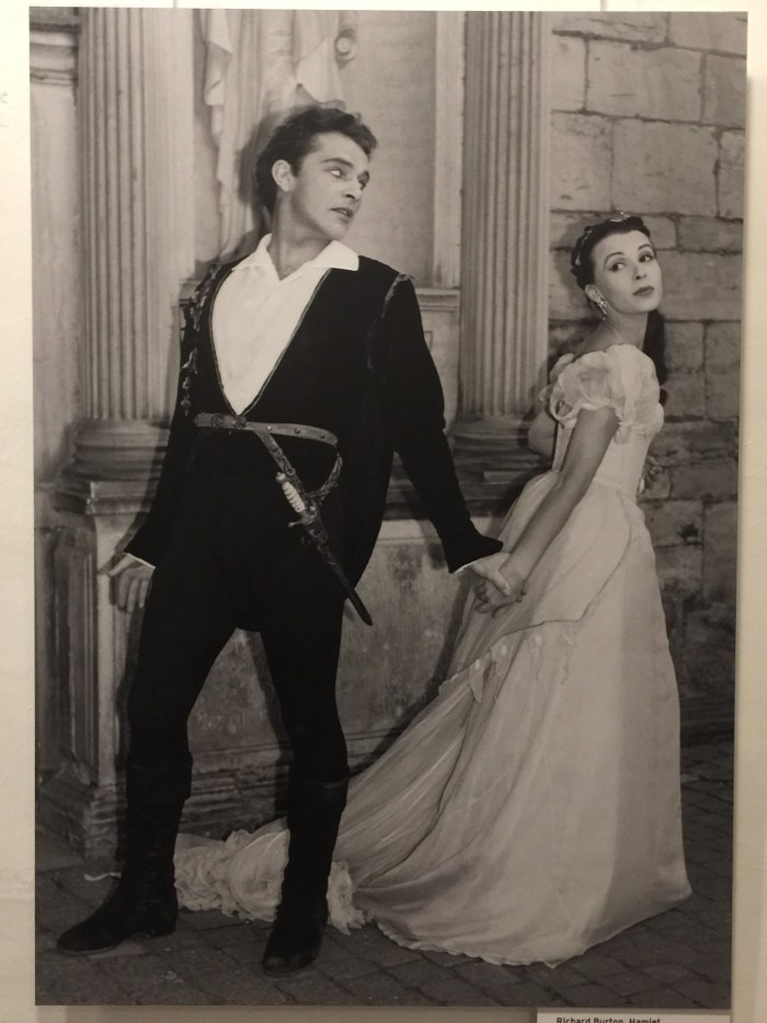 Richard Burton as Hamlet at Kronborg