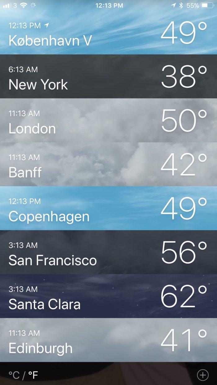 weather!