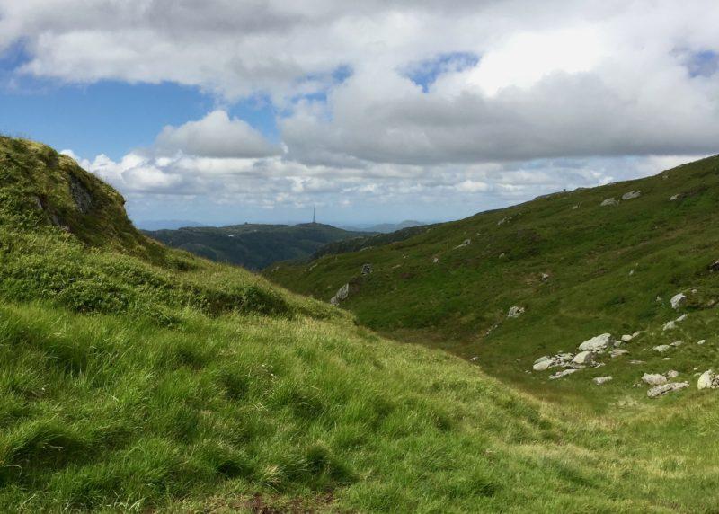 Hiking Mount Ulriken