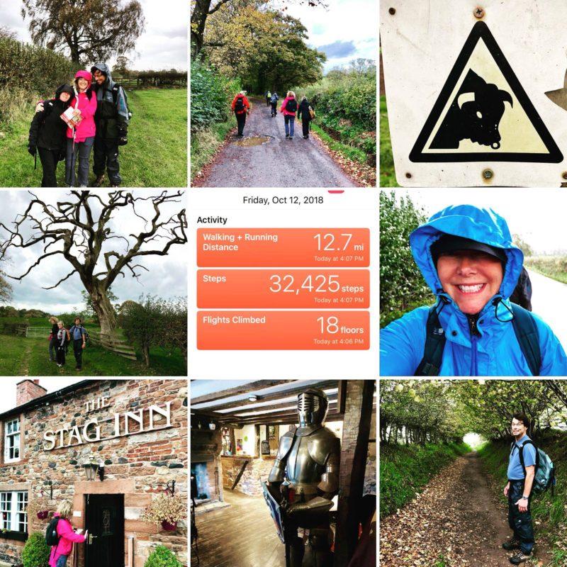 Kate Stoupas Day 5 Hadrian's Wall