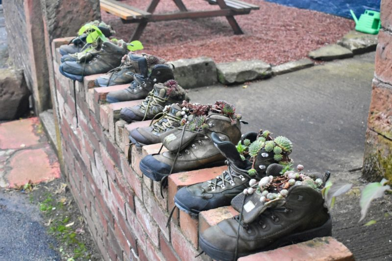 Bowness old walking shoes