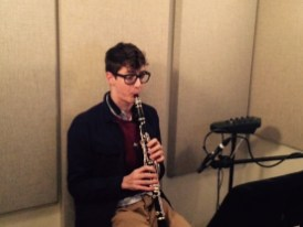 Andrew O'Donnell, clarinetist for Welcome to the Symphony