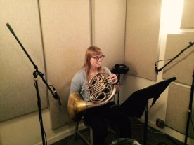 Emma Reber, horn player for Welcome to the Symphony