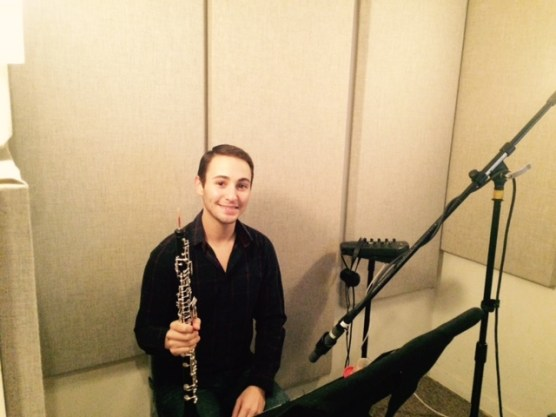 Mark Sophia oboist for Welcome to the Symphony