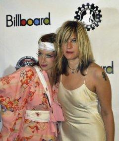 Carolyn - Billboard Magazine shot - Detroit Music Awards - with Jackie
