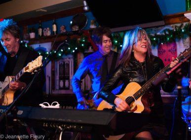 Carolyn and band good