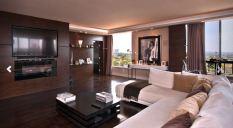 Wilshire Corridor living room