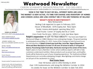 Westwood Newsletter Feb 2015
