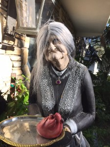 lifesize witch for Halloween