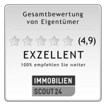 Auszeichnung Immobilien Scout 24 für die Carossa Immobilien GmbH